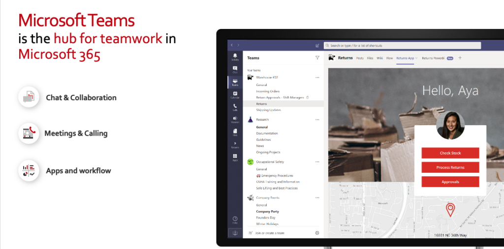 Microsoft Teams is the hub for teamwork in Microsoft 365 connecting remote and distributed teams worldwide.